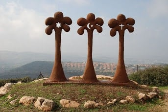 The religions sculpture