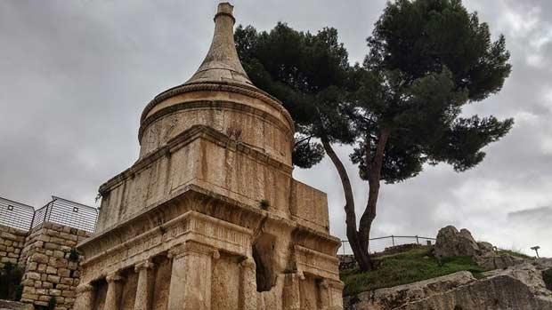 קבר אבשלום הר הזיתים
