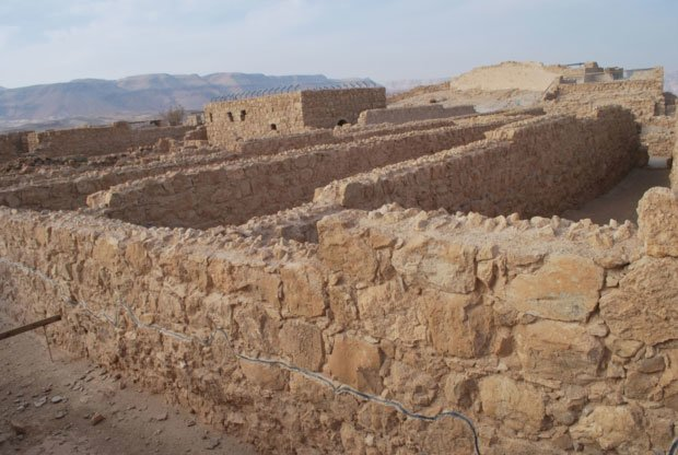 storerooms in Masada מחסנים מצדה