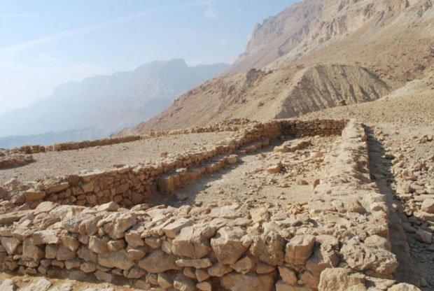 ein gedi Tempelruinen