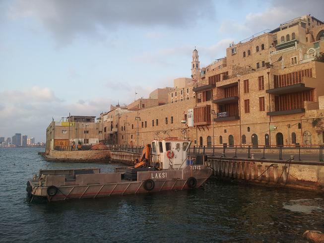 Der Hafen von Jaffa