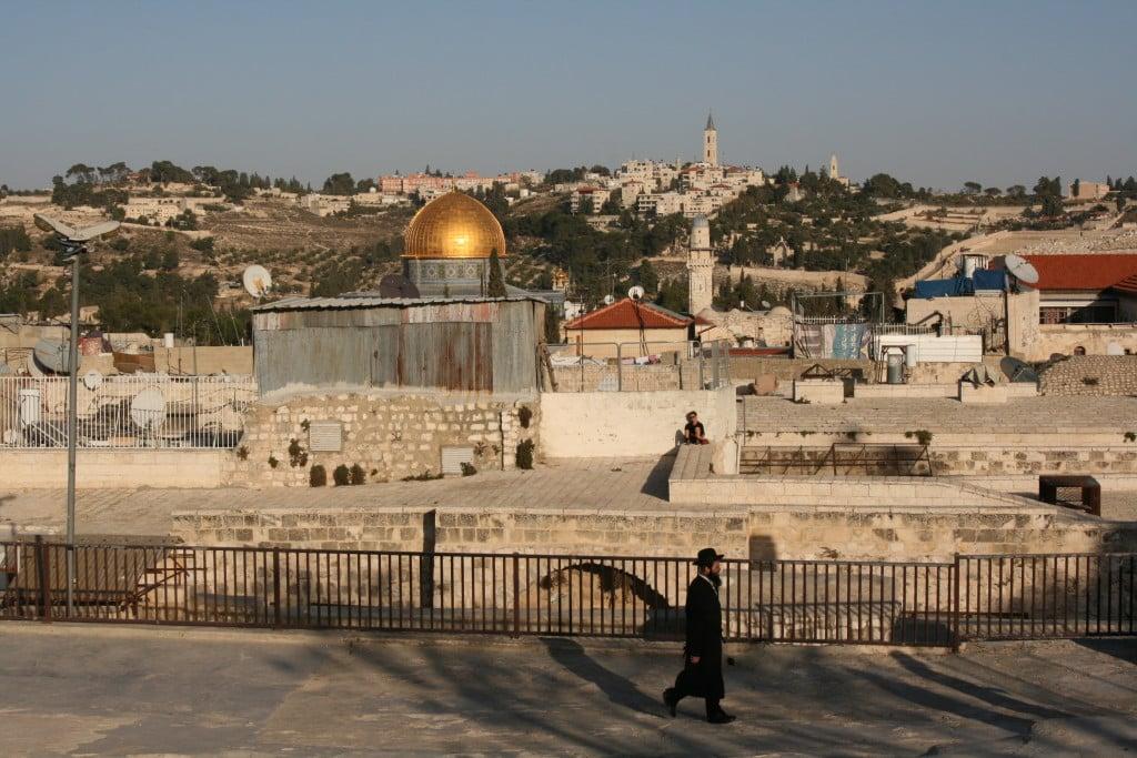 Jerusalem rooftop