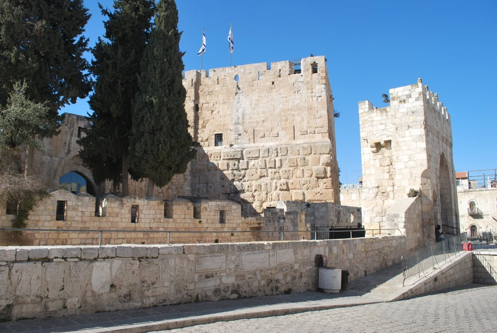 Tower of David מוזיאון מגדל דוד