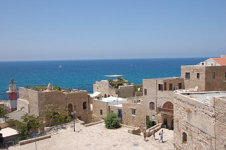 Jaffa sea view
