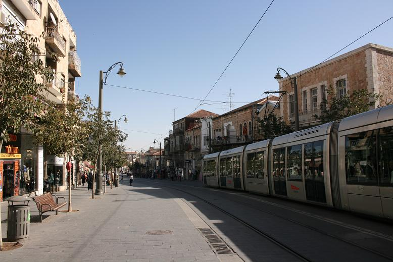 light rail Jerusalem רכבת קלה ירושלים