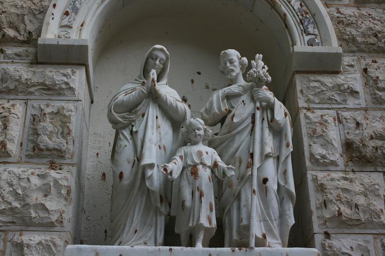 the holy family – Joseph, Mary, and Jesus