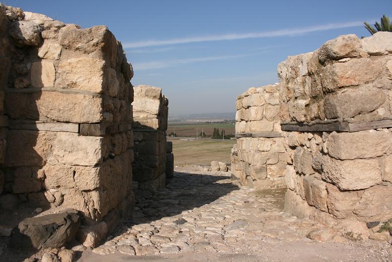 Gate of Tel Megiddo