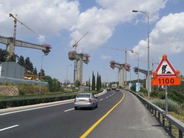 בניית מסילת רכבת ירושלים תל אביב Tel Aviv Jerusalem rail