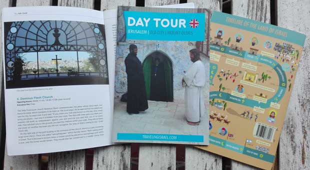 jerusalem travel guide booklet