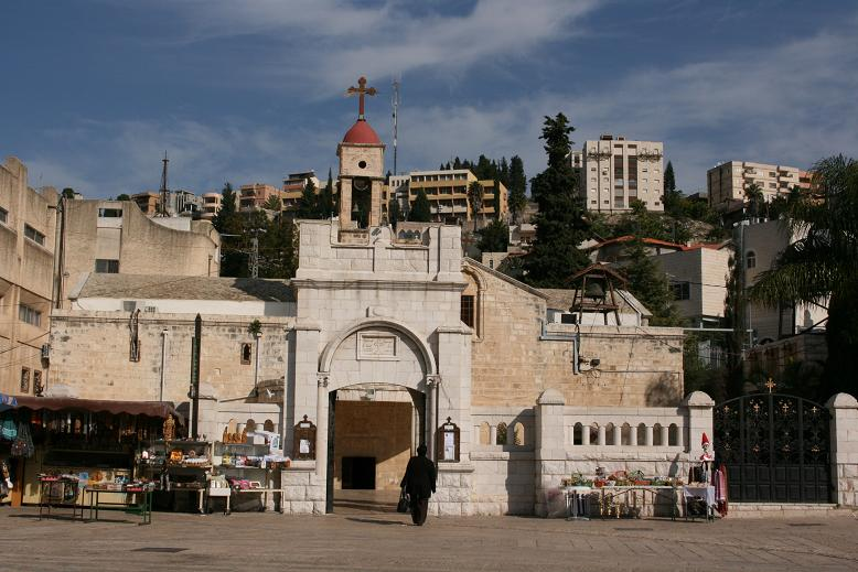 Greek Orthodox Church of the Annunciation, Church of St. Gabriel, Mary's Well Church כנסיית הבשורה האורתודוכסית נצרת