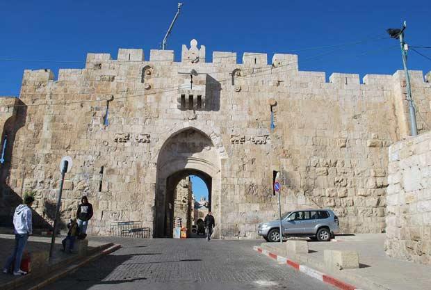 העיר העתיקה בירושלים - שער האריות