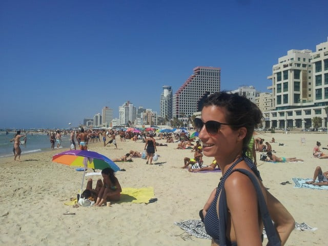 Israel Itinerary - Tel Aviv beach