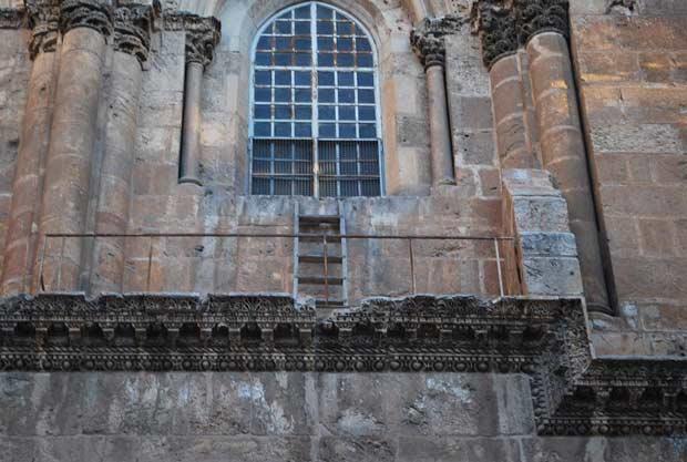 סולם כנסיית הקבר