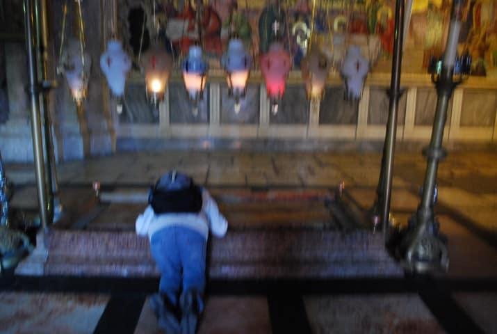 כנסיית הקבר אבן המשחה