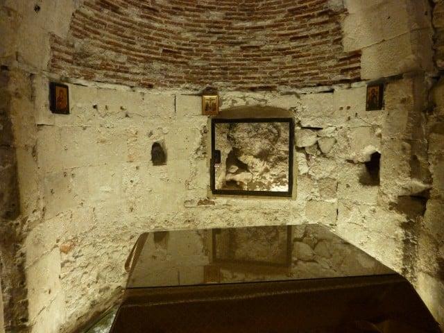 קפלת האדם הראשון כנסיית הקבר