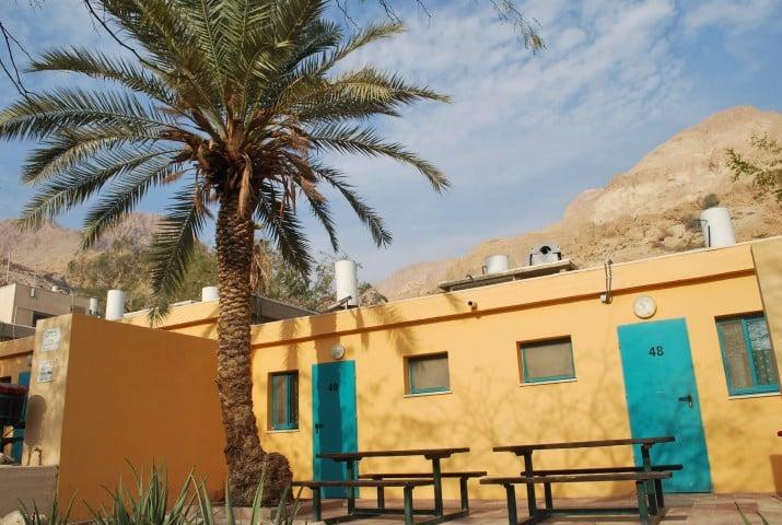 Unterkünfte in der Judäischen Wüste und am Toten Meer