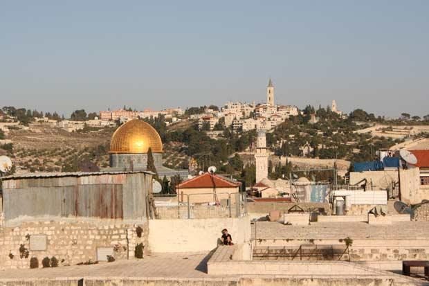 Free Rooftop lookout Jerusalem