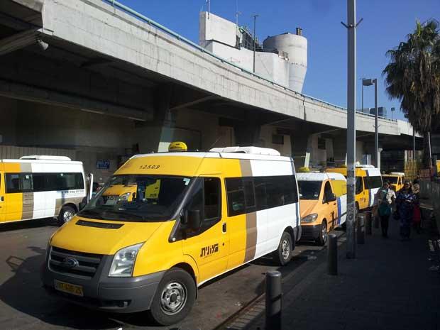 sherut-taxi-transportaion -Israel