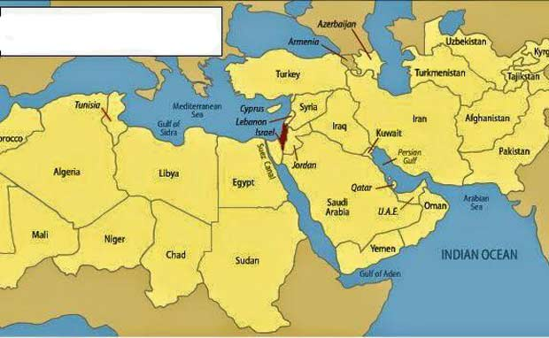 israel-and-arab-world
