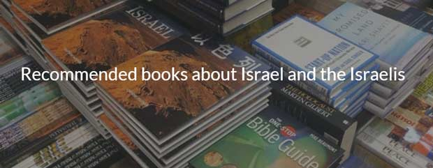 Recommended books about Israel and the Israelis