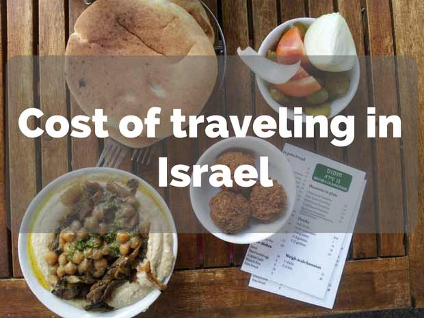 cost of traveling in israel
