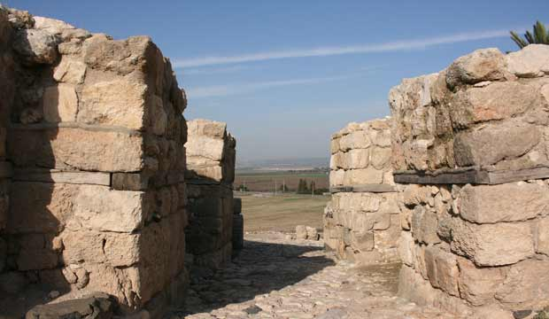 Timeline of the Land of Israel - Megiddo