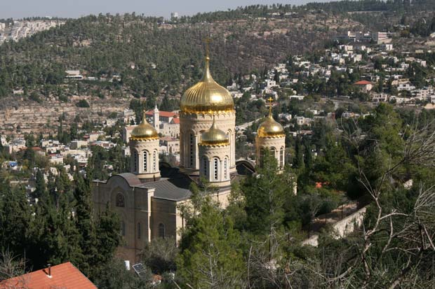 Ein Karem. A village-like atmosphere on the edge of the city.
