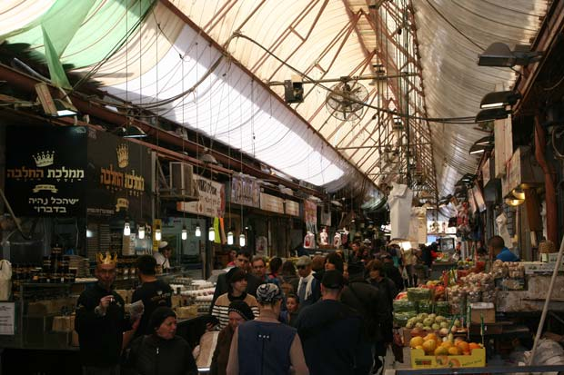 Shuk (market) Machne Yehuda. A must-see in Jerusalem, day and night.