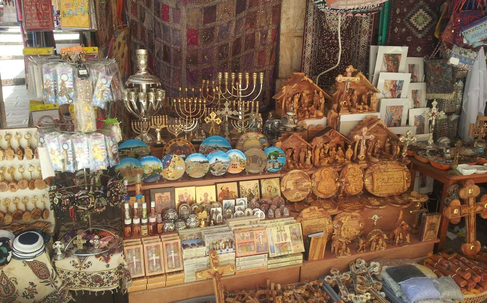 The Shuk (market) in the Old City of Jerusalem
