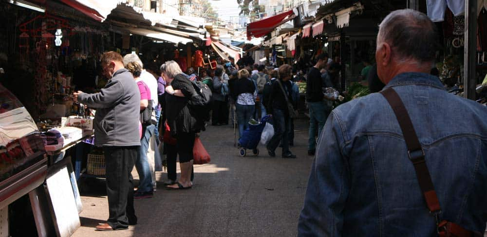 The Flea Market. Old Jaffa