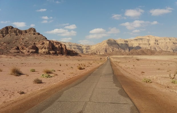 Timna National Park - winter vacation tips