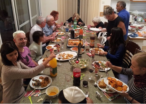 Israel as a Jewish state and your trip - Friday night dinner
