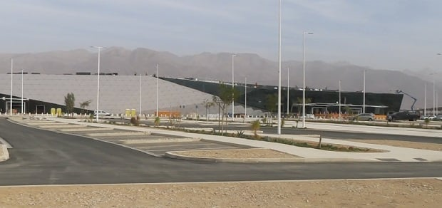 The new Ramon Airport