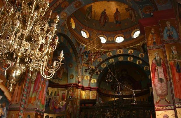 Greek Orthodox Church of the Holy Apostles in Capernaum